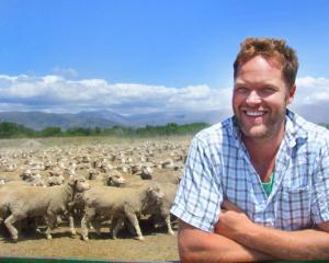 Quailburn Downs manager Trent Spittle is supplying merino wool for Kathmandu's new merino...