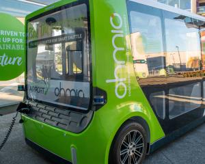 Head to the Christchurch Botanic Gardens this weekend for a free ride in a Smart Shuttle. Photo:...