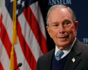 Former New York City Mayor and possible 2020 Democratic presidential candidate Michael Bloomberg...