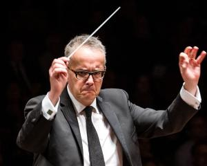 International conductor Marc Taddei believes high culture must be celebrated. PHOTO: ELIAS...
