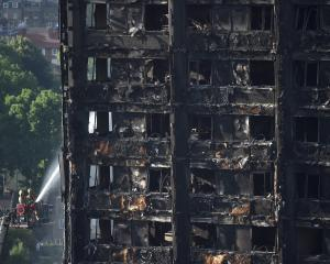 The Grenfell Tower block in West London. Photo: Reuters