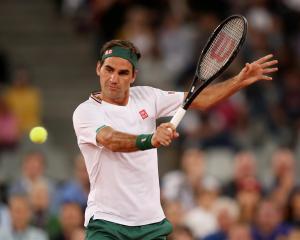 Roger Federer. Photo: Reuters