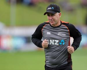 New Zealand cricket coach Gary Stead. Photo: Reuters