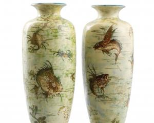 Martinware cases (1203), R.W Martin and Brothers, London (est. 1873-1914). Photo: Collection of...
