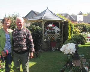 Reighton Drive residents Yvonne and Graham Matthews are among residents of the street who enjoy...