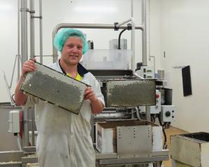 Midlands beekeeper Jake Sherratt is part of the busy team extracting honey at the company's...