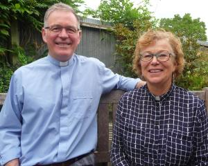 Michael and Mary-Jo Holdaway.