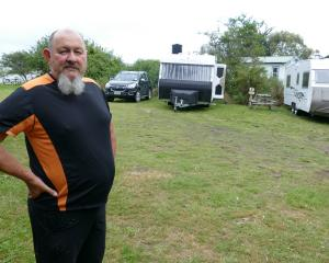Newhaven Holiday Park owner Grant Gabolinscy says a Catlins freedom camping trial this summer has...