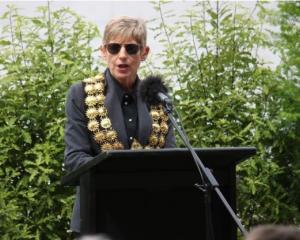 Lianne Dalziel pictured yesterday at the memorial service for victims of the Christchurch...