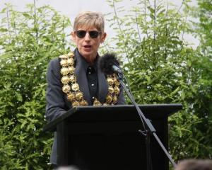 Lianne Dalziel pictured on Saturday at the memorial service for victims of the Christchurch...