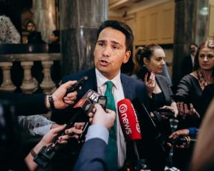 National Party leader Simon Bridges says Winston Peters' behaviour is unacceptable. Photo: RNZ