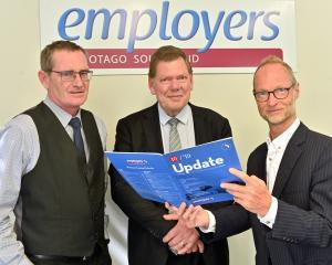 Otago-Southland Employers Association solicitor Stu Adamson, Business New Zealand employment...