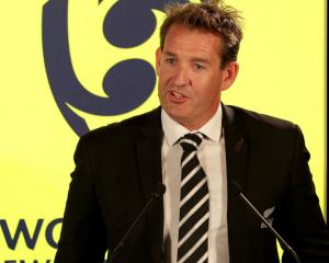 New Zealand Rugby CEO Mark Robinson. Photo: Getty