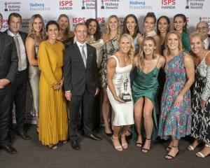 The Silver Ferns took out the Team of the Year as well as the Supreme Award at the Halbergs last...
