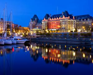 Downtown Victoria is full of historic architecture. Photos: Getty Images