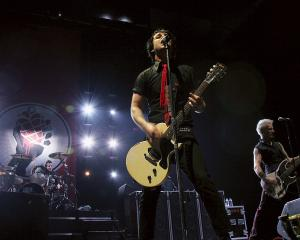 Green Day perform in Brighton, England, in 2005. Photo: Getty Images