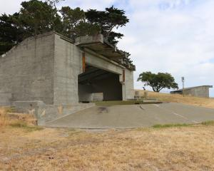 The coastal defence battery at Godley Head was built in 1939. Photo: Supplied