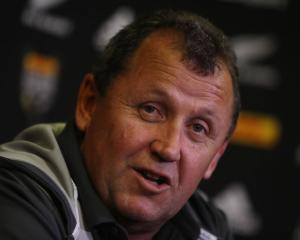 Ian Foster has been with the All Blacks under Steve Hansen since 2012. Photo: Getty Images