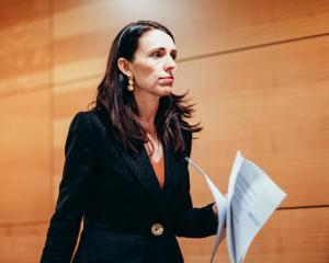 Prime Minister Jacinda Ardern is unconcerned with the latest poll results that indicate a drop in...