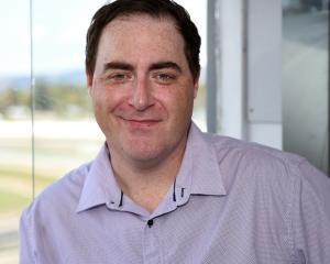 Justin Evans began his tenure as Otago's racing caller earlier this week. Photo: Supplied