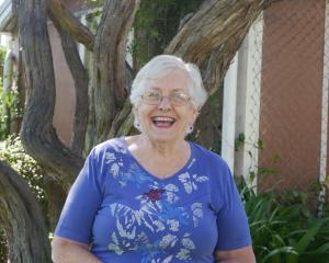 Stroke victim Dame Elizabeth Hanan, of Dunedin, is the first patient to benefit from a new '...