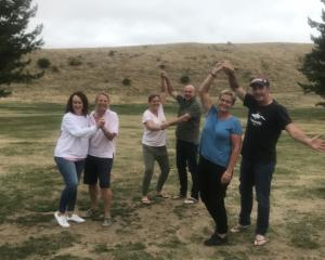 Patearoa Cavalcade organising committee members have been enjoying a good laugh or two as they...