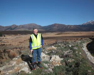 Phil McKenzie, of Wellington, pictured near Mossburn recently, has been named as the Deer...
