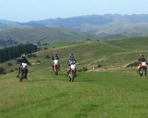 The Eastern Hills Trail Ride is on this Saturday, a major fundraiser for the Waikouaiti School...