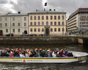 Sweden's second largest city, Gothenburg, was the main port of departure for emigrants who...