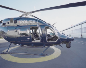 The police Eagle helicopter. Photo: Supplied