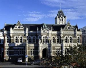 Work on restoring the courthouse is set to begin next month. Photo ODT