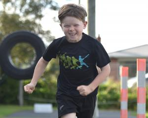 Grant's Braes School pupil Alex Jakeway is competing in his first Sanitarium Weet-Bix Kids...
