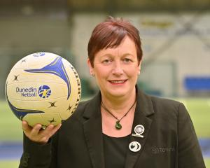 Netball stalwart Adrienne Ensor has been made a life member of the Dunedin Netball Centre. PHOTO:...