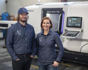 United Machinists owners Alex and Sarah Ramsay. Photo: Supplied