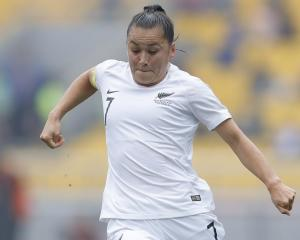 Football Ferns skipper Ali Riley. Photo: Getty