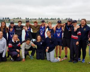 Ashburton College rowers were all smiles at Lake Ruataniwha last weekend and before the news of...