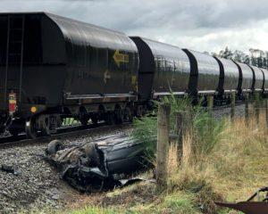 The scene of the crash in 2019. Photo: Greymouth Star