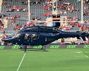 Police Eagle helicopter.  Photo: Supplied