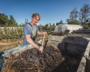 Compost is the ultimate soil builder and fertiliser,  Ben Elms, aka Dr Compost, says. PHOTO: SI...