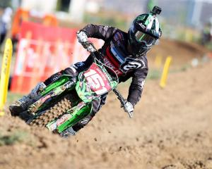 Women's world motocross champion Courtney Duncan has chosen not to get on her bike during New...