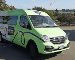 A MyWay mini bus. Photo: Environment Canterbury Regional Council