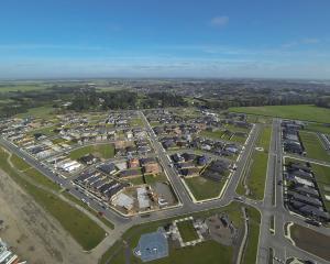 The Faringdon subdivision in Rolleston. Photo: Selywn District Council