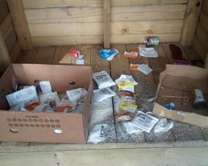 The Hillmorton High School food hub was broken into on Monday. Photo: Supplied