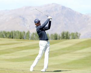 Australian Brad Kennedy shot an 8 under 63 on the final day to take out the NZ Open. Photo: Getty...