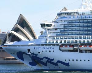 The Ruby Princess. Photo: Getty Images