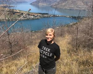 Wakatipu Beech Seedling Project manager Hilary Lennox, of Ahika Consulting Ltd, on site above the...