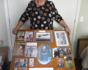 Palmerston Collie Club stalwart Margaret Vickers has put together a photo board of past...