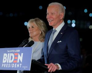 Democratic U.S. presidential candidate and former Vice President Joe Biden. Photo: Reuters