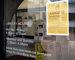 The DCC has shut down many of its operations due to Covid-19, including the Dunedin Public...