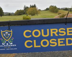 Otago Golf Club and golf clubs around the country cannot maintain their greens while under...